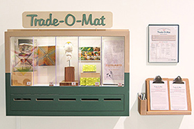 Trade-O-Mat at the Brower Center