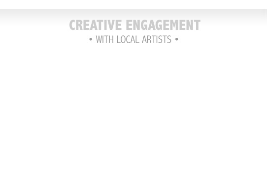 Creative Engagement - with local artists