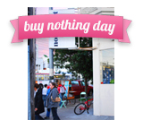 non*mart - buy nothing day